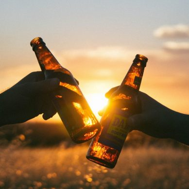 Piwo a alkohol.